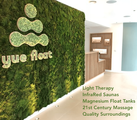 Yuefloat Infrared sauna, float tanks light therapy